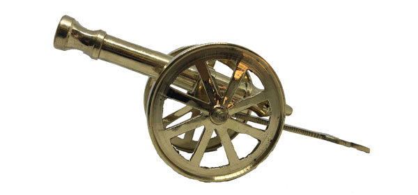 Brass Feng Shui Cannon