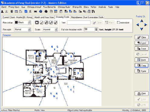 Feng Shui software