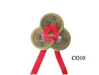 3 chinese feng shui coins
