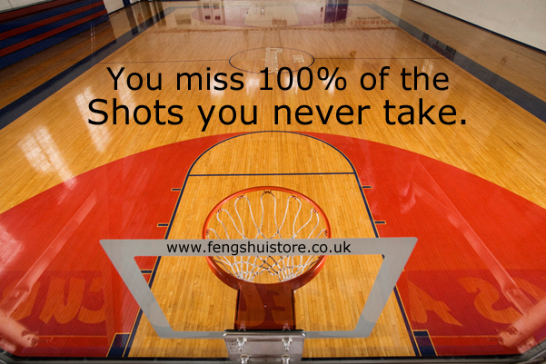 we miss 100 percent of the shots we never take