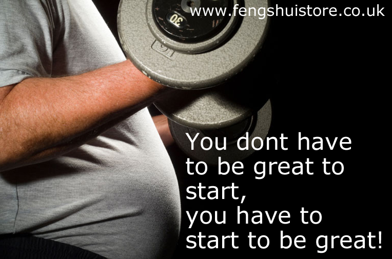 """You don't have to be great to start, you have to start to be great""."