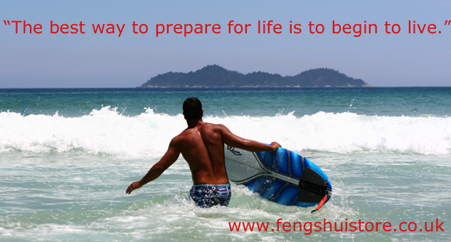 the best way to prepare for life is to begin to live
