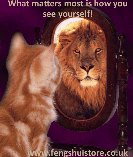 """""""What matters most is how you see yourself""""."""