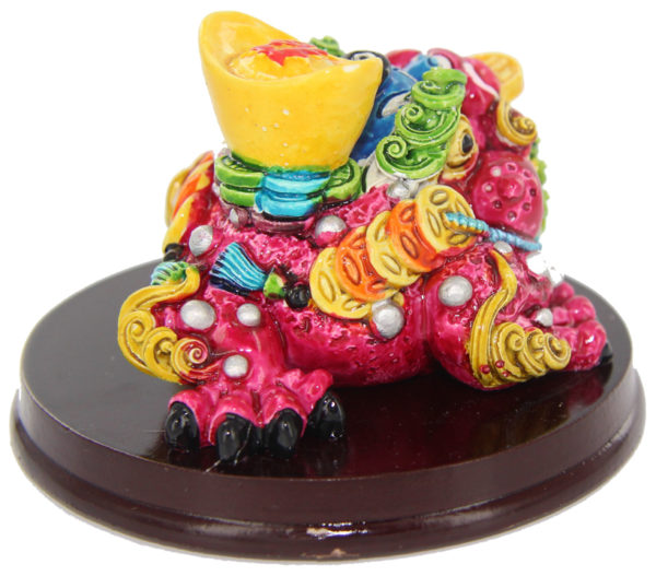 Wealth enhancer and cure Cai Shen Ma (Wealth Toad God)