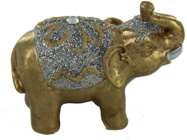 Jin se da xiang Jewelled golden elephant