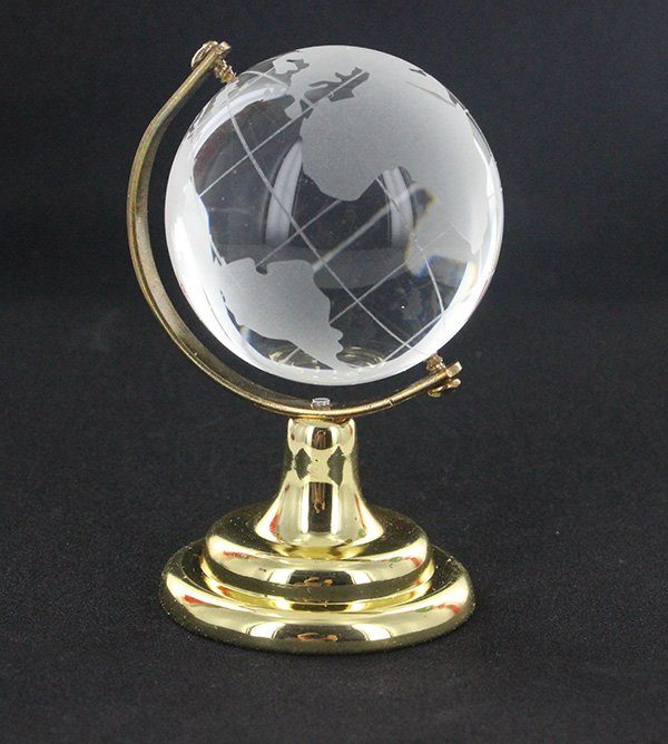 Fu shi jian earth globe for wealth and success
