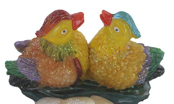 Taohua Mandarin ducks for relationships, love and romance