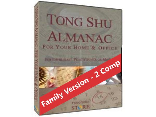 Tong Shu Almanac software - Family Version- 2 computers
