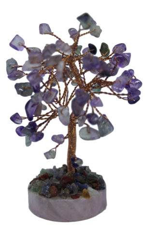 ChuXi Crystal gemstone tree for wealth and career luck