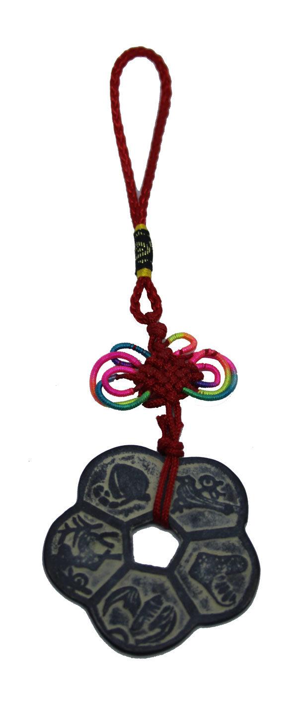 Mei Hua Fu Zhou Protection Plum Blossom Amulet